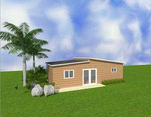 Chine Maisons modulaires peu coûteuses d'appartements portatifs australiens de mamie/petites Chambres préfabriquées fournisseur