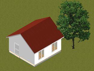 Chine Le petit pavillon préfabriqué de cadre en acier de famille autoguide/maison préfabriqué contemporain fournisseur