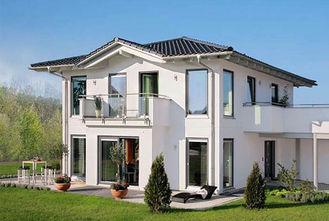 Chine Villa préfabriquée structurelle en acier blanche fournisseur