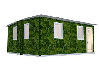 Chine Assemblez vite le pavillon de maisons modulaires de preuve de tremblement de terre/abri transportable de secours fournisseur