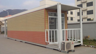 Chine Maisons préfabriquées de récipient d'expédition, logement modulaire de récipient fournisseur