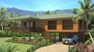 Chine Pavillon en bois en acier léger de Chambre/pavillons de luxe de plage pour la Thaïlande fournisseur