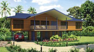 Chine Bali a préfabriqué les pavillons à la maison en bois de plage des Chambres/etc. pour la vie de vacances fournisseur