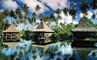 Chine Pavillon préfabriqué préfabriqué de Bali, pavillons du Tahiti Overwater pour la station de vacances Maldives fournisseur