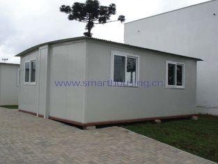 Chine Logement préfabriqué modulaire pliable/logement portatif blanc de secours fournisseur