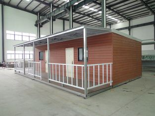 Chine Caravanes résidentielles larges triples, maisons modulaires mobiles de démantèlement facile fournisseur