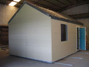 Chine Maisons modulaires mobiles légères de structure métallique/petite Chambre préfabriquée modulaire pliable fournisseur