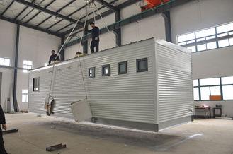 Chine Maisons modulaires australiennes blanches/maisons modulaires préfabriquées pour des salles de douche fournisseur