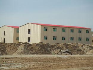 Chine Bâtiments commerciaux préfabriqués de coût bas/bâtiment préfabriqué en métal Saveing d'énergie fournisseur