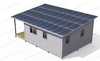 Chine Chambre pliable mobile moderne/mamie préfabriquée bleue de cadre en acier plate fournisseur