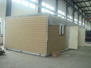 Chine Assemblez vite les maisons modulaires préfabriquées économiseuses d'énergie préfabriquées de maisons modulaires fournisseur