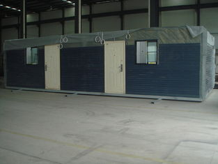 Chine Chambre en acier légère préfabriquée préfabriquée étanche à l'humidité de maisons modulaires ignifuge fournisseur