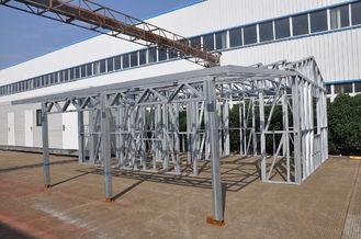 Chine Le cadre en acier de lumière de hangars de voiture en métal jette le cadre fort étanche à l'humidité avec un stockage fournisseur