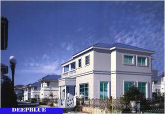 Chine Le style européen a préfabriqué la villa/Chambre en acier légère de haute qualité de renommée fournisseur