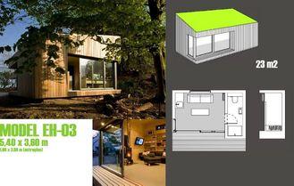 Chine Studio préfabriqué de jardin, hangar léger de jardin de cadre en acier fournisseur