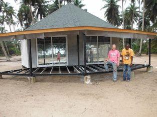 Chine Pavillon préfabriqué de Bali de nouvelle conception, pavillons d'Overwater pour le bord de la mer fournisseur