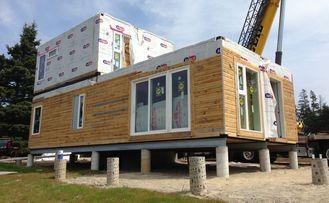 Chine Villa légère d'acier de mesure d'étage préfabriquée par bâtiments modulaires de la Chambre deux fournisseur