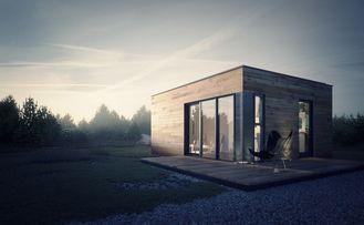 Chine Studio préfabriqué de jardin de Chambre préfabriquée avec le stockage léger de cadre en acier fournisseur