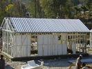 Chine Kits préfabriqués de Chambre de maisons modulaires jaunes/cadre en acier de lumière pour la vie usine