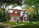 Villa légère préfabriquée de structure métallique de mesure, Chambres préfabriquées en acier
