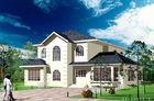 Chine La villa préfabriquée en acier de mesure de lumière blanche/construction préfabriquée architecturale autoguide la norme de l'Amérique usine