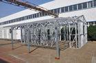 Chine Le cadre en acier de lumière de hangars de voiture en métal jette le cadre fort étanche à l'humidité avec un stockage usine