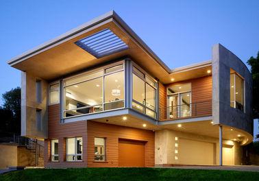 Chambre en acier préfabriquée luxueuse/Chambre préfabriquée etc. en métal cadre en acier de lumière
