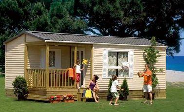 Caravanes résidentielles de style de l'Europe, maison démontable de vacances, Chambre pliable
