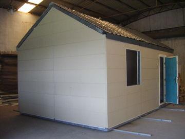 Chine Maisons modulaires mobiles légères de structure métallique/petite Chambre préfabriquée modulaire pliable distributeur