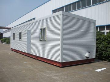Chine Maisons modulaires élevées de carlingue de rondin d'Eco d'isolation, maisons modulaires préfabriquées vertes de rondin distributeur