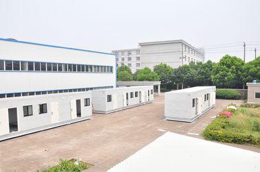 Chine Maisons modulaires préfabriquées de finition de 100% pour le bureau, pour la chambre à coucher distributeur
