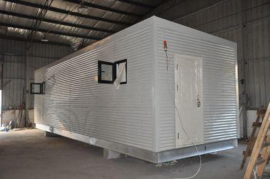 Chine Maisons modulaires préfabriquées de cadre en acier, maison de garde mobile pour la vie de personnes distributeur