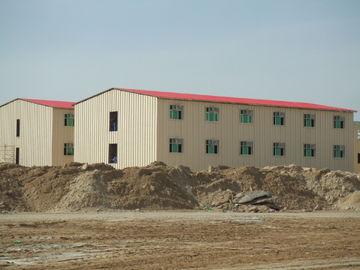 Bâtiments commerciaux préfabriqués de coût bas/bâtiment préfabriqué en métal Saveing d'énergie