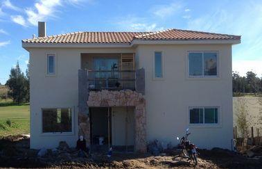 Assemblez rapidement la villa préfabriquée de maison, Chambre en acier préfabriquée de deux planchers avec la longue vie