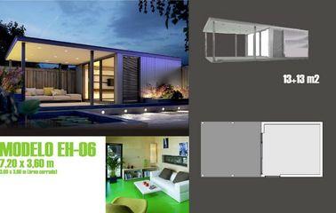 Le bien mobilier moderne accentue la maison de vacances/a préfabriqué le studio de jardin pour la vie de vacances