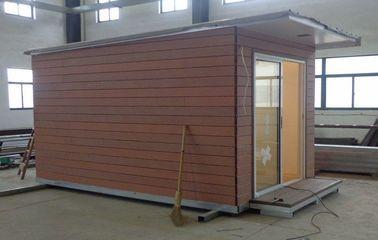 Chine La maison légère de vacances de structure métallique/a préfabriqué le studio de jardin pour la vie de vacances distributeur