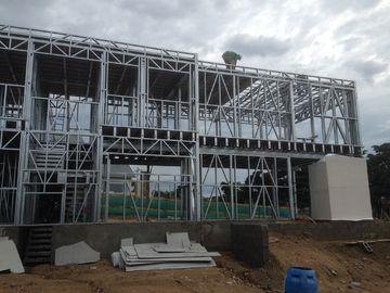 Chine Rapides modernes installent la Chambre préfabriquée, métal préfabriqué logeant des modules distributeur